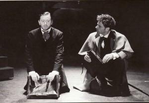 Hans Peter Janssen als Jekyll en Rein Kolpa als Utterson